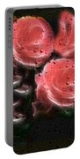 Roses In The Rain Portable Battery Charger