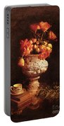 Roses In Urn Portable Battery Charger