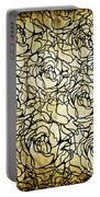 Roses Pattern Portable Battery Charger
