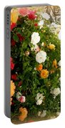 Roses Roses Everywhere Portable Battery Charger