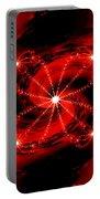 Rouge Et Noir Avec Blanc Portable Battery Charger