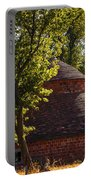 Round Block Barn Portable Battery Charger
