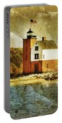 Round Island Lighthouse Portable Battery Charger