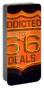 Route 66 Addicted Portable Battery Charger