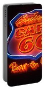 Route 66 Bar And Grill Portable Battery Charger