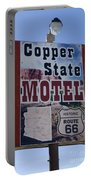 Route 66 Copper State Motel Portable Battery Charger