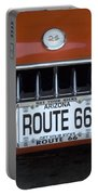 Route 66 Corvette Grill Portable Battery Charger