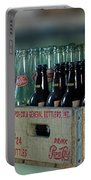 Route 66 Odell Il Gas Station Cases Of Pop Bottles Digital Art Portable Battery Charger