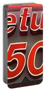 Route 66 Return To The 50s Portable Battery Charger