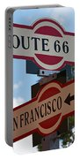 Route 66 Street Sign Portable Battery Charger