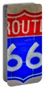 Route 66 Wall Art-2 Portable Battery Charger