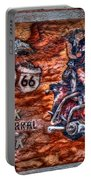 Route 66 Wall Art-3 Portable Battery Charger
