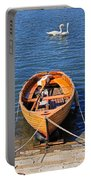 Rowboat Portable Battery Charger by Joana Kruse