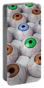 Rows Of Eyeballs Portable Battery Charger