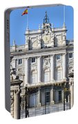 Royal Palace In Madrid Portable Battery Charger
