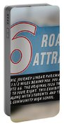 Rt 66 Towanda Il Parkway Signage Portable Battery Charger