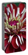 Ruby Zinnia Portable Battery Charger