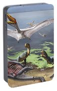 Rugops Primus Dinosaurs And Alanqa Portable Battery Charger