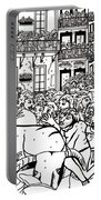 Running Of The Bulls 3 Portable Battery Charger