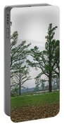 Rural Trees Iv Portable Battery Charger