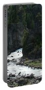Rushing Thru The Mountains Portable Battery Charger