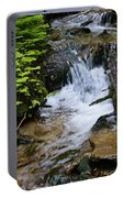 Rushing Water On Mt Spokane Portable Battery Charger