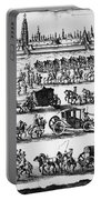 Russia: Procession, 1698 Portable Battery Charger