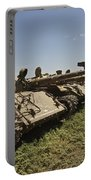 Russian T-62 Main Battle Tanks Rest Portable Battery Charger