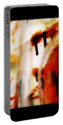 Rusted Paint Portable Battery Charger