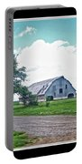 Rustic Barn Scene Portable Battery Charger