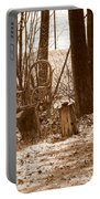 Rustic Living Portable Battery Charger