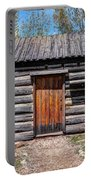 Rustic Pioneer Log Cabin - Salt Lake City Portable Battery Charger