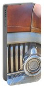 Rusty Abandoned Old Buick Eight Portable Battery Charger