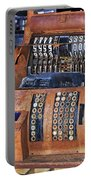 Rusty Cash Register Portable Battery Charger