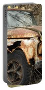 Rusty Ford Portable Battery Charger by Luke Moore