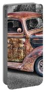 Rusty Old Truck  Portable Battery Charger