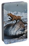 Sabre-toothed Tigers Battle Portable Battery Charger