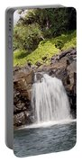 Sacred Pool Waterfall Portable Battery Charger
