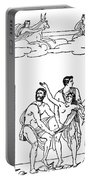 Sacrifice Of Iphigenia Portable Battery Charger