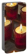 Sacrificial Candles Portable Battery Charger