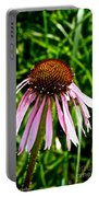 Sad Cone Flower Portable Battery Charger