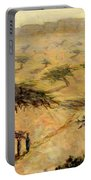 Sahelian Landscape Portable Battery Charger by Tilly Willis