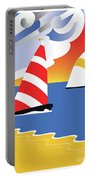 Sailing Before The Wind Portable Battery Charger