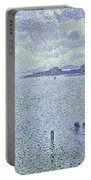 Sailing Boats In An Estuary Portable Battery Charger