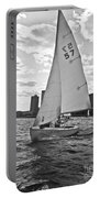 Sailing On The Charles Portable Battery Charger