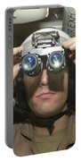 Sailor Adjusts His Anavs-9 Night Vision Portable Battery Charger