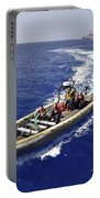 Sailors Transit An Inflatable Boat Portable Battery Charger