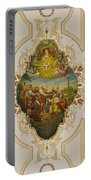 Saint Louis Cathedral Mural Portable Battery Charger