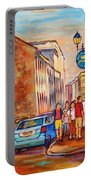 Saint Paul Street  Montreal Portable Battery Charger