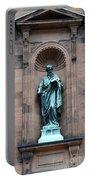 Saint Peter Statue - Historic Philadelphia Basilica Portable Battery Charger